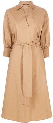 Seventy Belted Shirt Dress