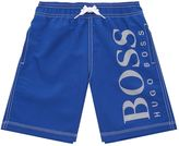 HUGO BOSS Oversized Logo Swim Shorts