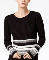 Bar III Striped Sweater, Only at Macy's