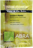 Abra Cold Flu (Camphor + Menthol) Bath Salts by 3oz Packet)