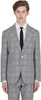 Prince Of Wales Wool & Cotton Jacket