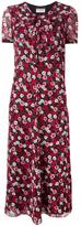Saint Laurent floral print dress - women - Silk - 36