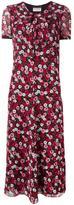 Saint Laurent floral print dress - women - Silk - 38