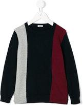 Il Gufo colour block jumper