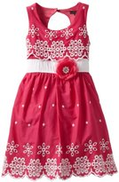 My Michelle Girls 7-16 Eyelet Embroid...