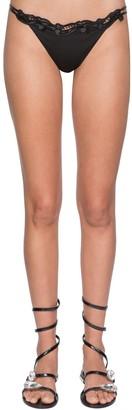 Ermanno Scervino Lycra & Lace Bikini Bottoms