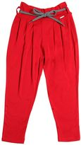 Junior Gaultier Viscose Jersey Pants W/ Shoestring Belt