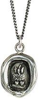 Pyrrha Unisex 925 Sterling Silver Soul Mates Talisman Necklace