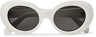 Acne Studios Oval-Frame Acetate Sunglasses