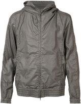 Attachment hooded jacket - men - Cotton/Linen/Flax/Tencel - 4