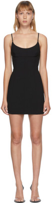 Alexander Wang Black Tailored Cami Dress