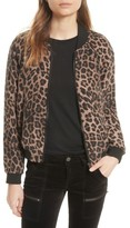 Joie Women's Julita Leopard Print Silk Jacket