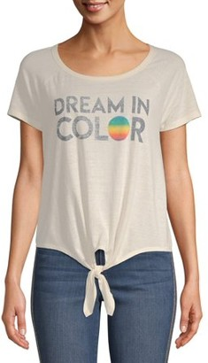 Scoop Enzyme Wash Dream in Color Short Sleeve T-Shirt Women's