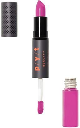PYT Beauty Double Duty Lipstick + Gloss