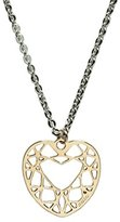Girls' Best Friends Best Friends Heart Girls'Choker Necklace Brass/22.2 cm GPPHEARTrosa-Pink