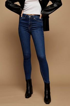 Topshop TALL Rich Blue Jamie Skinny Jeans