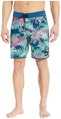 Quiksilver Highline Camocat 19 Boardshorts (Majolica) Men's Swimwear