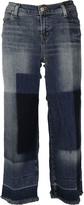 J Brand Liza Mid Rise Culotte Trousers