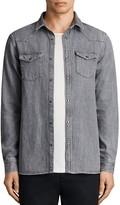 AllSaints Glazer Regular Fit Button-Down Shirt