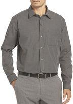 Van Heusen Long-Sleeve Non-Iron Traveler StretchButton-Front Shirt