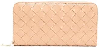 Bottega Veneta Interwoven-Design Rectangle Wallet