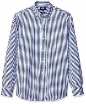 Cutter & Buck Men's Wrinkle Resistant Stretch Long Sleeve Button Down Shirt