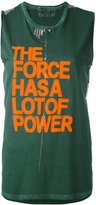 Freecity The Force Has A Lot Of Power top - women - Cotton - S