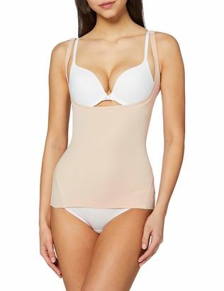 Naomi & Nicole Women's Top Torsette Nude-Cooling Underwear M