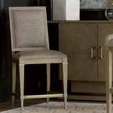 Everly Albright Upholstered Parsons Chair in Brown Quinn