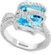 Effy Balissima by Sky Blue Topaz (7-3/8 ct. t.w.) & White Topaz (1/5 ct. t.w.) in Sterling Silver