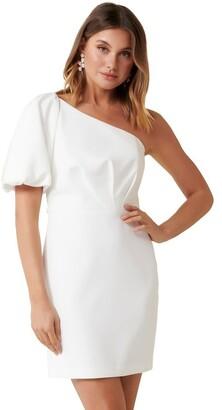 Forever New Maple One Shoulder Mini Dress