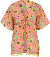 Jane Norman Multicolour Sunflower Print Kaftan