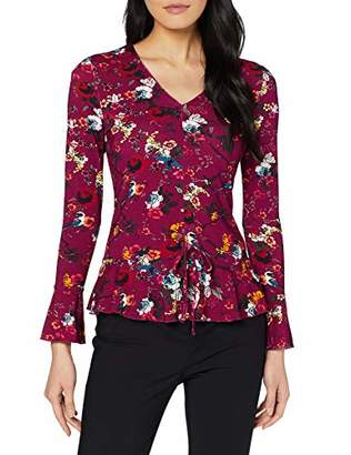 Joe Browns Women's Ruched Front Top Long Sleeve, A, Size: