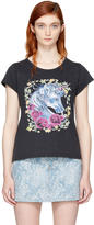 Marc Jacobs Black Baby Unicorn T-shirt