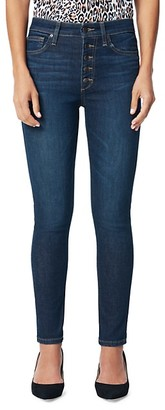 Joe's Jeans Charlie Skinny Ankle Button-Fly Jeans