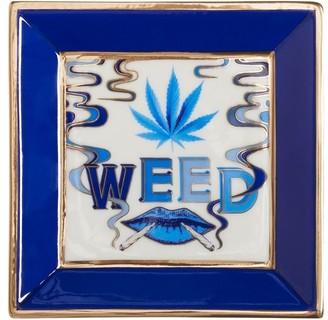 Jonathan Adler Druggist Weed Square Tray