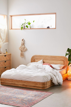 Urban Outfitters Ria Rattan Bed