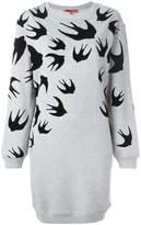 McQ 'Swallow' sweatshirt dress