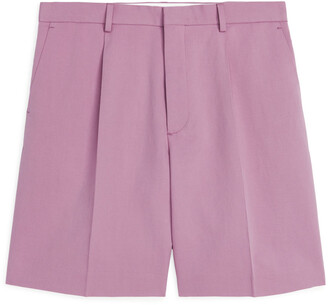 Arket Pleated Linen Shorts