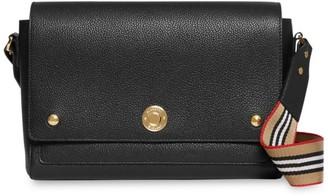 Burberry Medium Note Leather Crossbody Bag