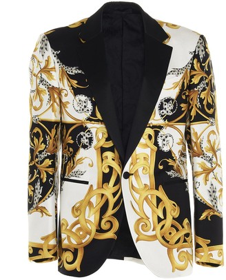Versace Baroque Tuxedo Blazer
