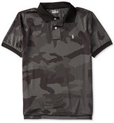 Ralph Lauren Camouflage-Print Polo, Big Boys (8-20)