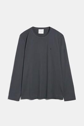 Armedangels Johaan Organic Cotton Long Sleeve Charcoal - S