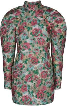 Rotate by Birger Christensen Kim Floral Jacquard Mini Dress