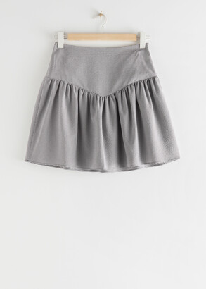 And other stories Frilled Mini Skirt