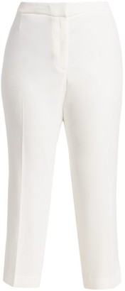 Lafayette 148 New York, Plus Size Finesse Crepe Front Zip Bleecker Pants