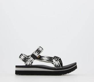 Teva Midform Universal Sandals Black Pattern