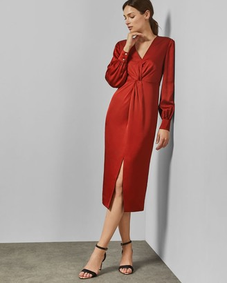 Ted Baker Twist Detail Bodycon Dress