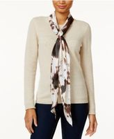 Vince Camuto Inky Floral Oblong Scarf