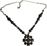 Chanel Baroque Black Metal Long necklaces